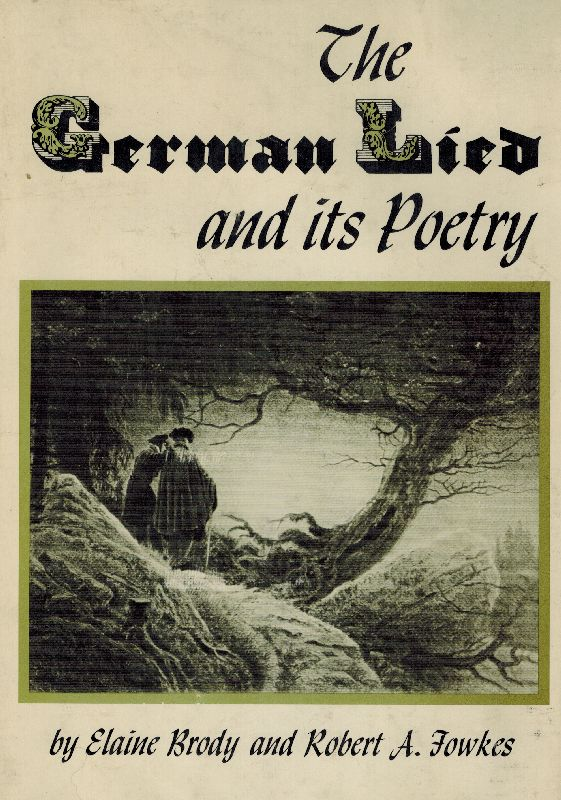 Brody, The German Lied and Its Poetry.