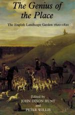 Hunt, The Genius of the Place - The English Landscape Garden 1620-1820.