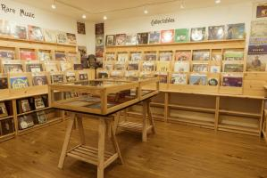 Our shop – Music and Vinyl Section