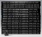 Various Authors. The Irish Arts Review 1988 – 2002.