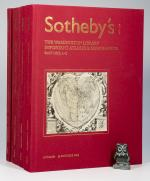 Anon. Sotheby's. The Wardington Library Sales Catalogues. Complete Set.